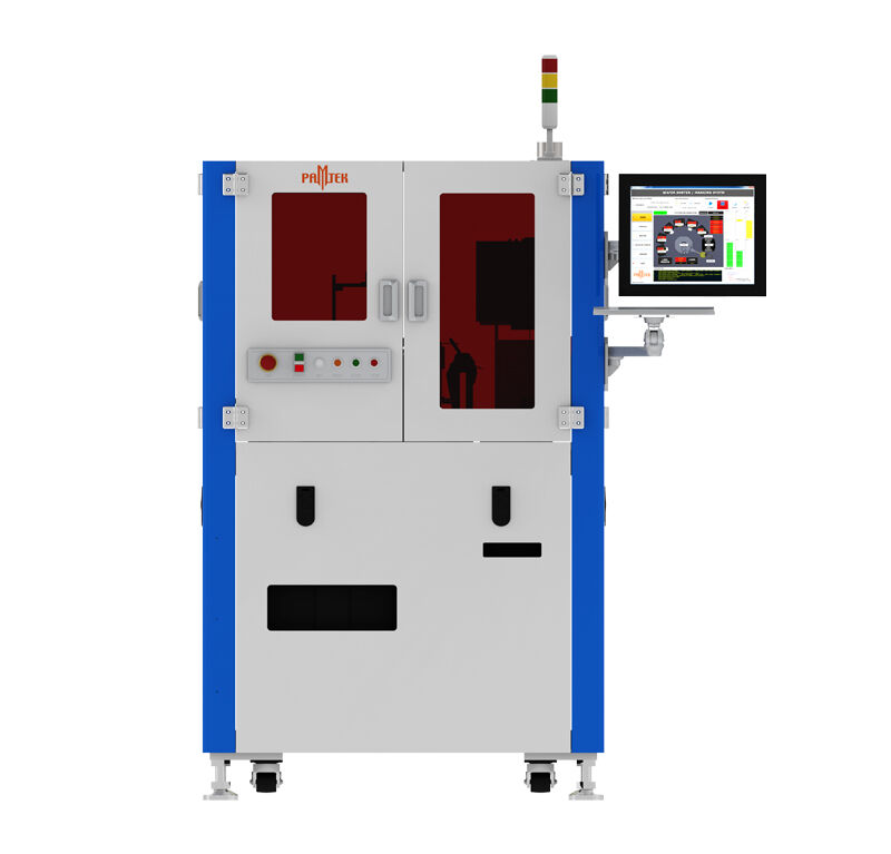 Wafer laser marking system